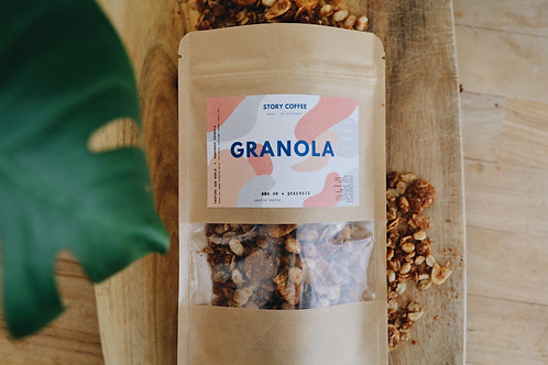 Story El Yapımı Şeker İlavesiz Granola