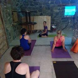 Journée VTT Yoga Céline Gros