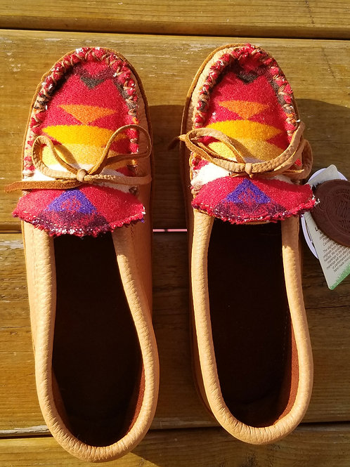 In the Ville Custom Hides in Hand Moccasins - Size 6