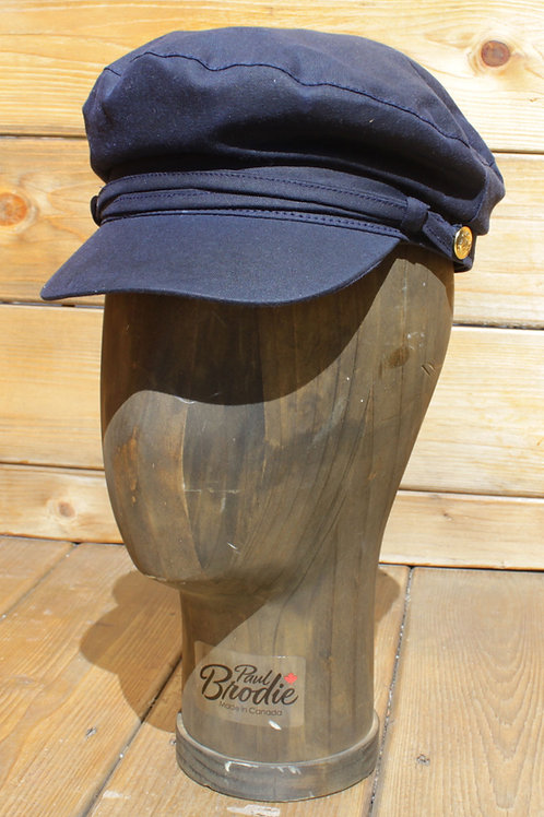 Navy Wax Cotton - Greek Fisherman Hat
