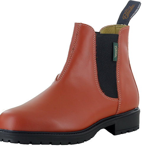 Limited Edition!! French Orange Leather Boots - Style 691130