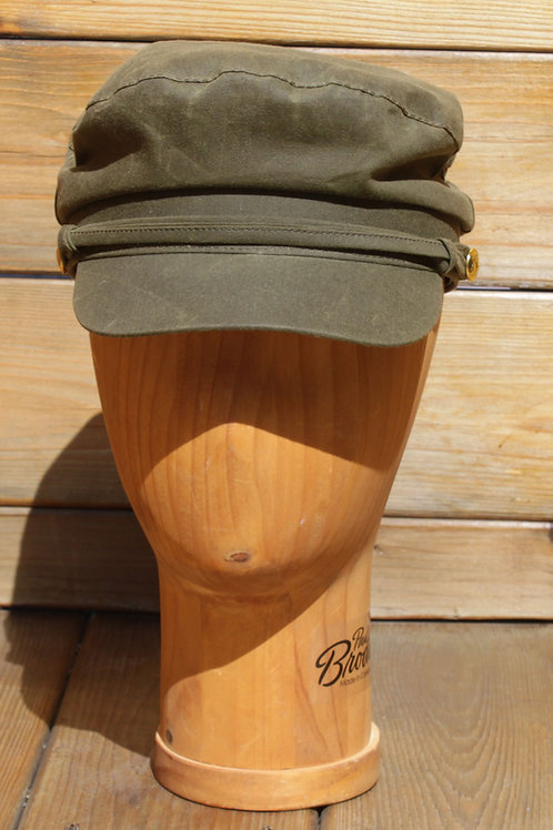 Military Green Wax Cotton - Greek Fisherman Hat