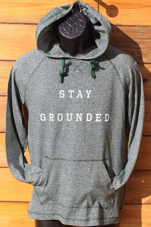 Stay Grounded Lightweight Hoodie - Unisex