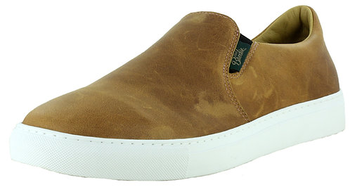 Ladies Leather Slip On Boat Shoes - 682070L