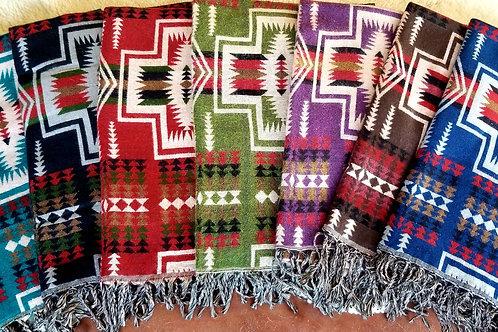 Native Inspired Designed Travel Scarves / Shawls