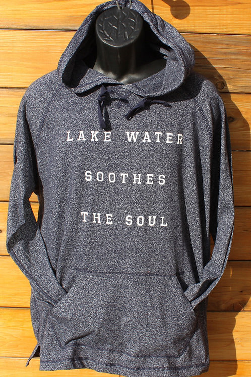 Lake Water Soothes the Soul - Lightweight Hoodie - Unisex