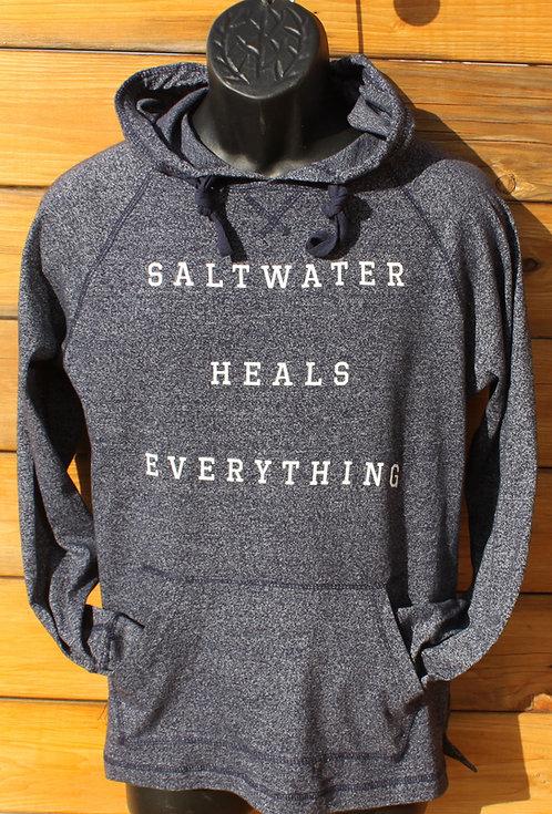 Saltwater Heals Everything - Lightweight Hoodie - Unisex