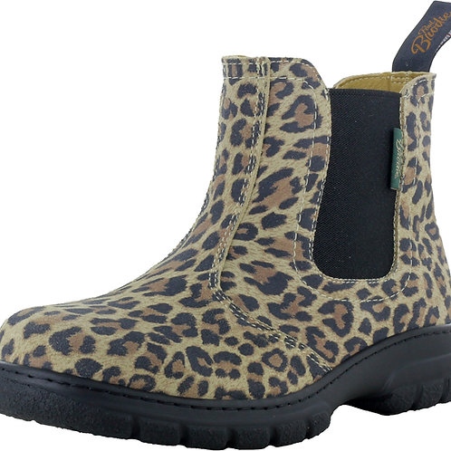 Maddy - Leopard Leather Boots - Style 446040