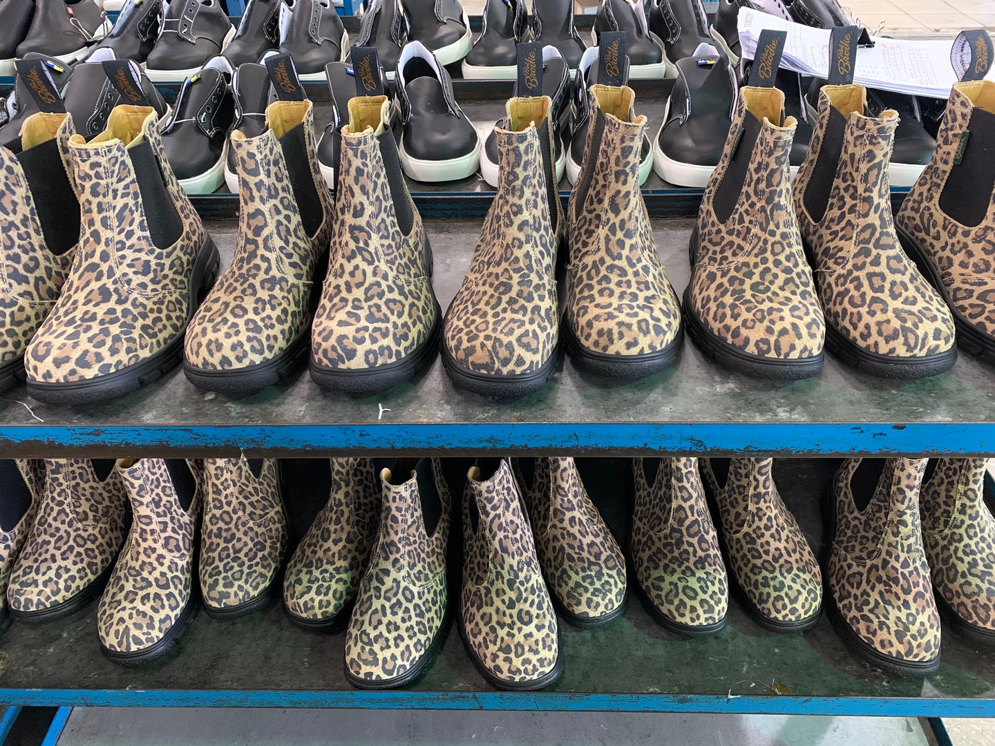 Leopard Leather Boots