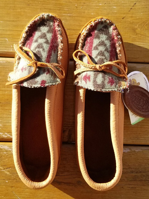 In the Ville Custom Hides in Hand Moccasins - Size 9