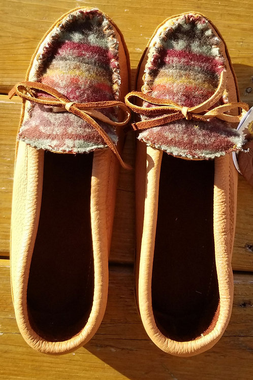 In the Ville Custom Hides in Hand Moccasins - Size 10