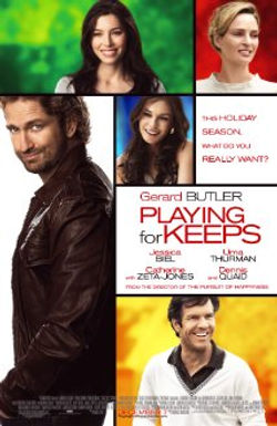 NEW BOOKING: PLAYING FOR KEEPS