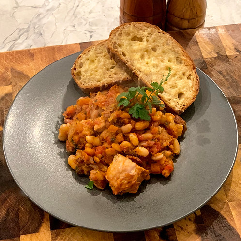 Pork & 4 Bean Cassoulet