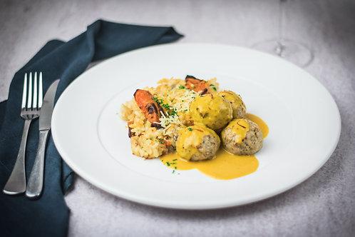 Chicken Lemon & Oregano Meatballs