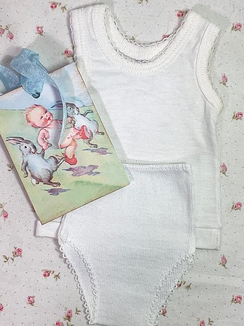 """Vintage NOS Underwear Set for 15"""" to 19"""" Dolls #6"""