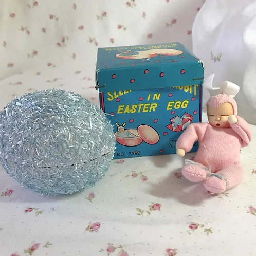 Rare * Tiny EASTER Egg PINK Bunny Baby DOLL for Effanbee Dy-Dee