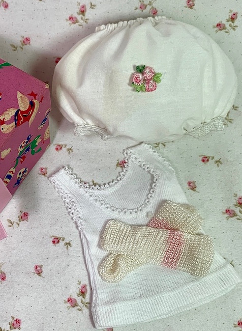 Vintage Cotton Panties Underwear Set for Small Size Dolls