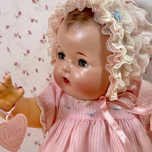 "Vintage 1930s Effanbee 20"" Mold 1 Dy-Dee LOU Baby Doll"