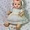 "Thumbnail: Vintage REAL Effanbee Factory 15"" Dy-Dee Jane Dress Set"