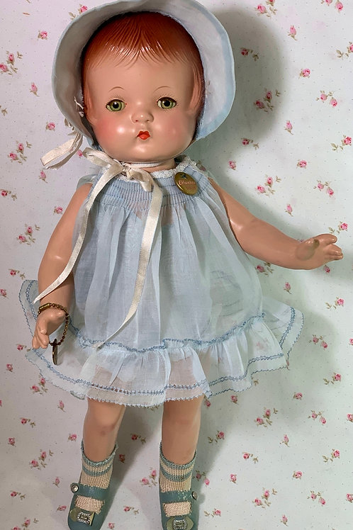 """RARE Effanbee 1930s Early Patsy Joan 15"""" Near MINT"""
