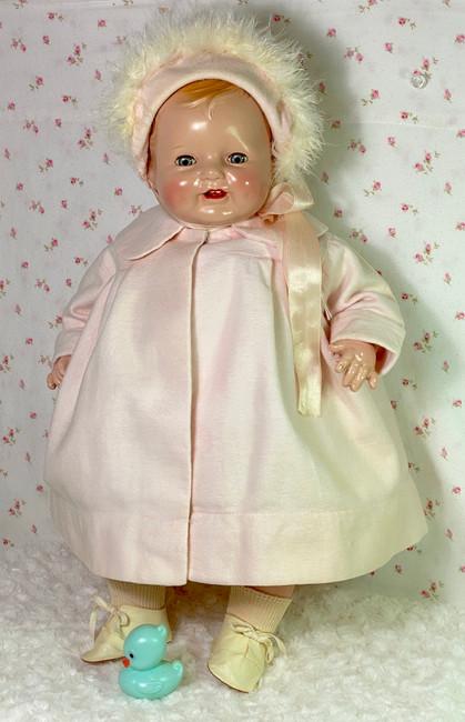 "1930s Vintage 19"" Madame Alexander Composition Baby Doll"