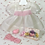 """Thumbnail: Easter WHITE Organdy for Effanbee 15""""Dy-Dee Jane or Tiny Tears Baby -- New"""