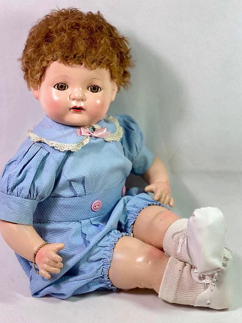 1930s Effanbee Sugar Baby Composition Doll