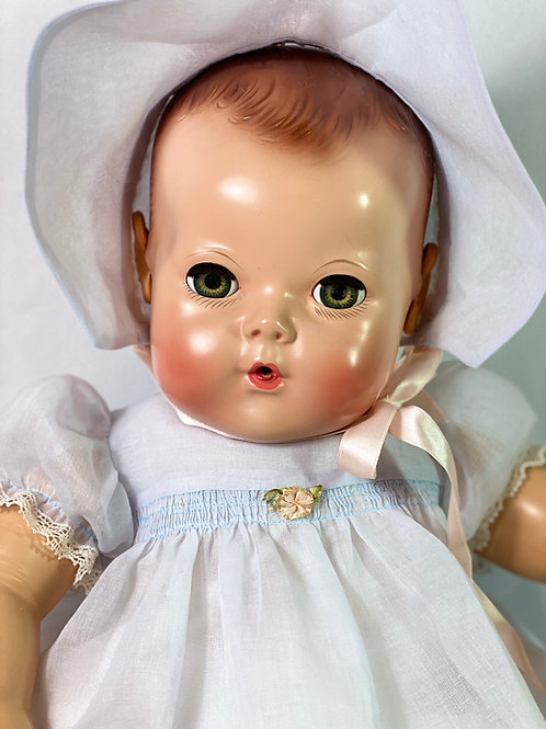"""1940s Vintage 20"""" Effanbee Dy-Dee Louise Baby MOLD 2"""