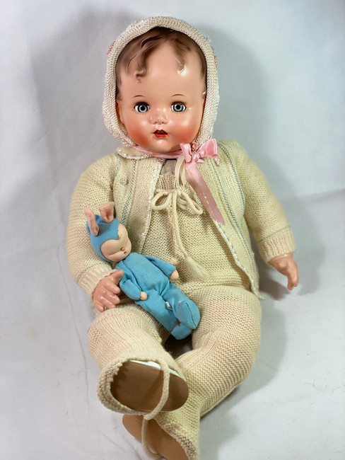 "Snowsuit Set for your 27"" Vintage 1947 Ideal Baby Beautiful Doll"