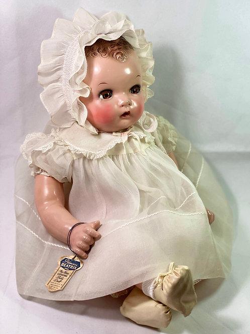 "IDEAL 22"" Flirty Eye 1930s Princess Beatrix Baby Doll"