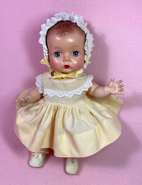 "Madame Alexander Hard Plastic C.1948 ""Precious"" Toddler"