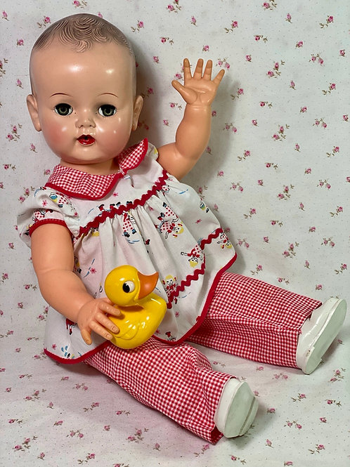 """Vintage VERY RARE EARLY 1950's Ideal Toy Co 20"""" BETSY WETSY Doll"""
