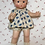"""Thumbnail: Extremely Rare 1930's Effanbee Pre-Patent 14"""" Patsy Doll Blue Heart Painted Eyes"""
