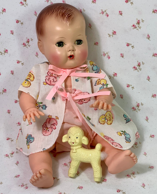 """Spring Pastel CHICKS Robe Set for 13"""" to 14"""" Tiny Tears and Friends"""