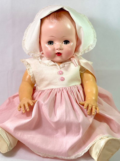 """Vintage 18"""" Early 1950s Tiny Tears Baby Doll"""