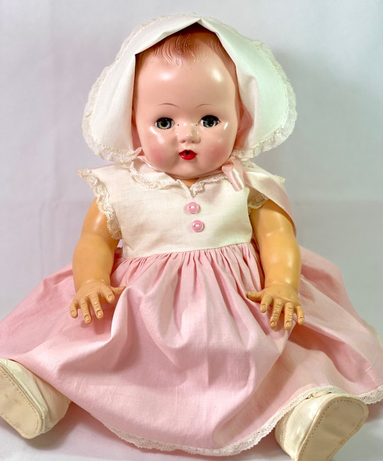 "Vintage 18"" Early 1950s Tiny Tears Baby Doll"