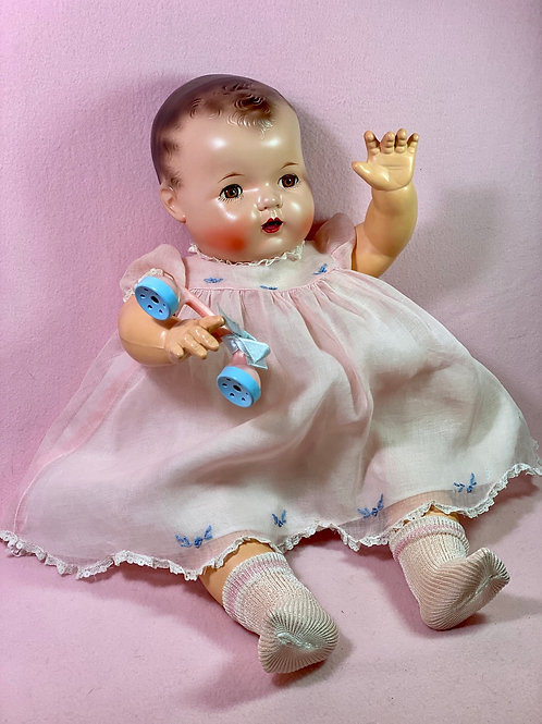 "Vintage 1930s Effanbee 20"" Mold 1 Dy-Dee LOU Baby Doll #2"