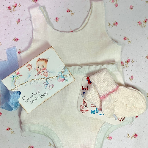 """Socks and Underwear for 18"""" to 20"""" Dy-Dee Tiny Tears Baby Dolls"""