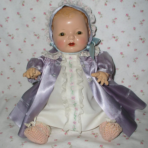 """15"""" Effanbee Dy-Dee Mold 1 RARE Blond Baby Girl"""