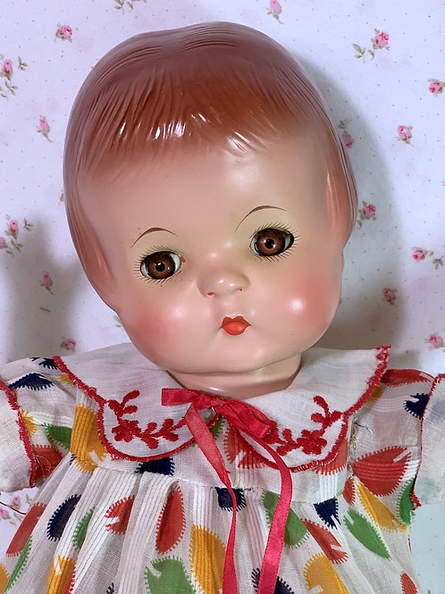"Vintage 1930s Effanbee 19"" Patsy Ann Composition Doll Near MINT"