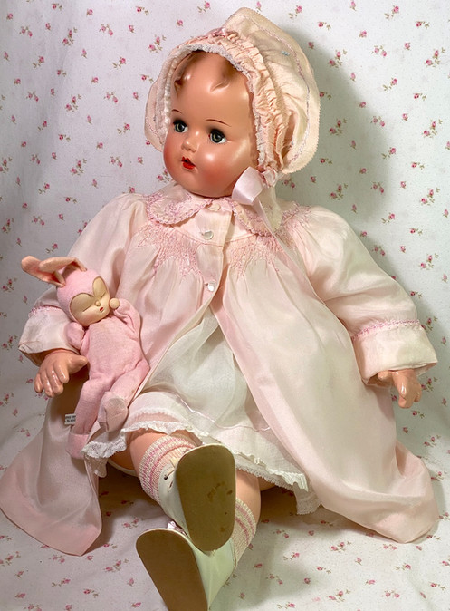 """RARE 27"""" Vintage 1947 Ideal Baby Beautiful Doll"""