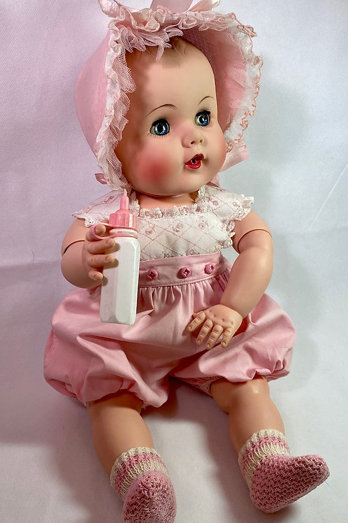 "1950s American Character Doll Co 21"" Darling PRISTINE and MINT"