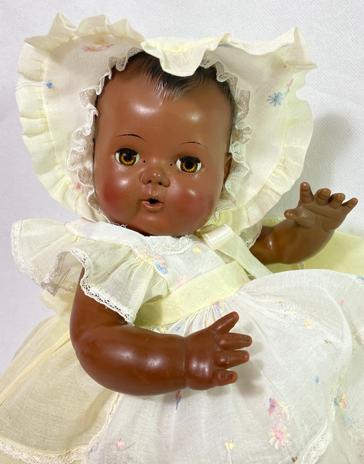 RARE 1956 American Character BLACK Tiny Tears BABY TEARS
