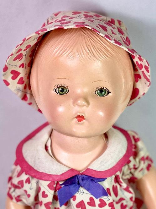 1930s Composition Effanbee Patsy Doll Look-Alike