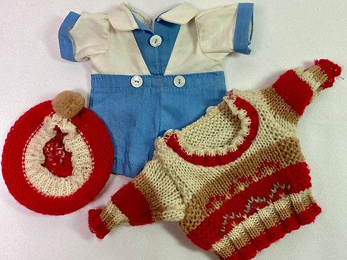 1930s Effanbee Patsy Kin / Patsy Jr Original Outfit