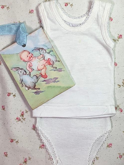 """Vintage NOS Underwear Set for 15"""" to 19"""" Dolls #7"""