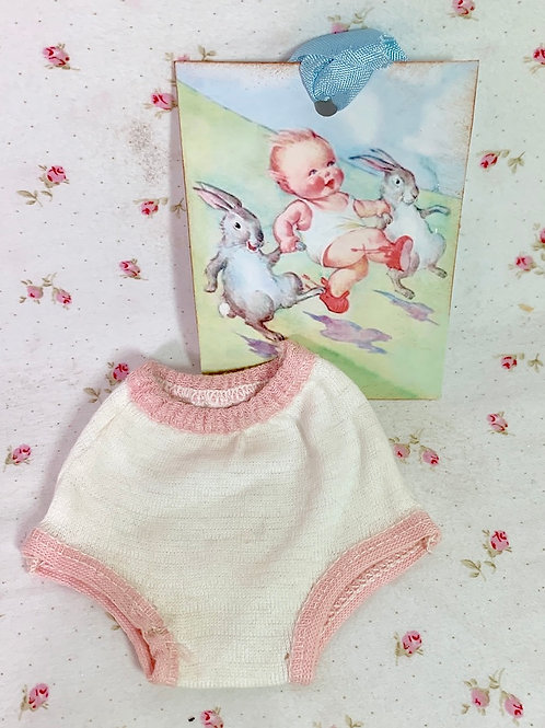 "Vintage NOS Underwear Panties for 11"" to 12"" Doll"