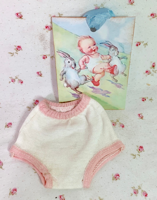"""Vintage NOS Underwear Panties for 11"""" to 12"""" Doll"""