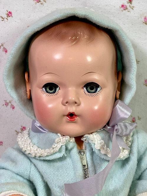 """1940s Vintage Effanbee 15"""" Mold 3 Dy-Dee Jane"""
