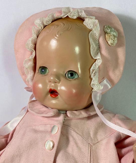 """1930s Horsman 19"""" BUTTERCUP Composition Doll"""